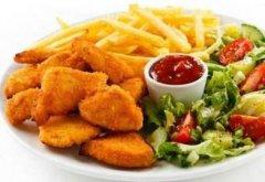 身上有白癜风,类似金拱门的快餐还能吃吗?